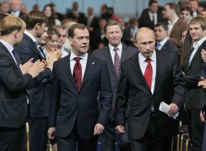 RUSSIA-POLITICS-PARTY-MEDVEDEV
